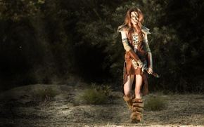 Picture hunter, Women, The Elder Scrolls, The Elder Scrolls V Skyrim, Cosplay, Eila, Aela