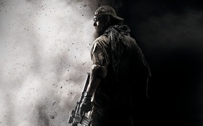 Picture black & white, Game wallpaper, medal of honor