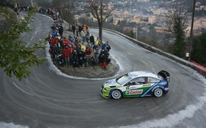Picture Ford, Ford, Focus, Hirvonen, WRC, Rally, Focus, Monte Carlo