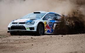 Picture volkswagen, rally, wrc, polo, JM Latvala, 2013