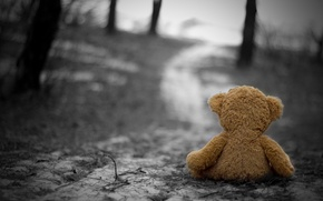 Wallpaper cold, sadness, autumn, loneliness, sadness, Toy, nostalgia