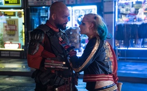 Picture Will Smith, Harley Quinn, Will Smith, Harley Quinn, Margot Robbie, Margot Robbie, Suicide Squad, Suicide …