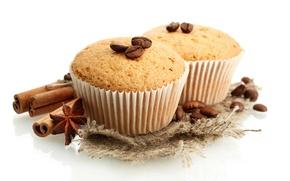 Picture chocolate, cake, cinnamon, dessert, cakes, cupcake, coffee, dessert, cupcake