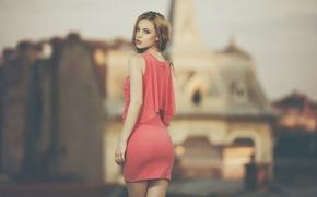 Picture look, Model, photographer, bokeh, Dan Perez
