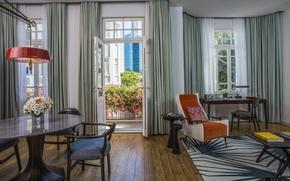 Picture design, interior, suite