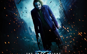 Picture Joker, sparks, the dark knight