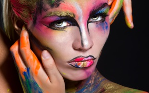 Picture fashion, look, makeup