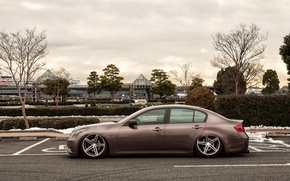 Picture profile, infiniti, infiniti, g35, low, stance