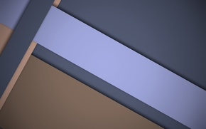 Picture material, geometry, design, blue, line, color, brown