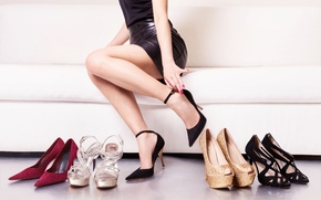 Wallpaper models, shoes, heels, purchase