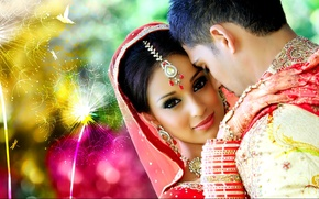 Picture decoration, woman, clothing, India, male, wedding