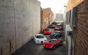 Picture Lamborghini, Koenigsegg, Bugatti, Ferrari, Mercedes