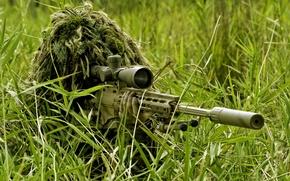 Picture rifle, sniper, Remington XM2010