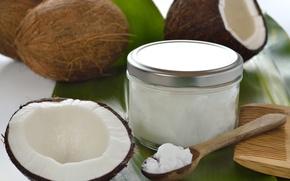 Picture oil, coconut, exotic