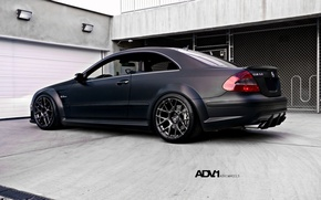 Picture chameleon, Matt, Parking, mercedes, Mercedes, benz, tuning, clk63