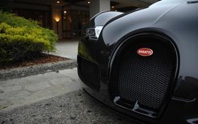 Picture black, Bugatti, Veyron, exotic, hypercar