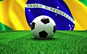 Picture football, the ball, Brazil, football, flag, world Cup, World Cup, Brasil, FIFA, 2014