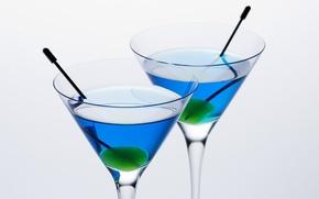 Wallpaper olives, drink, glasses