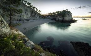 Picture sea, summer, shore