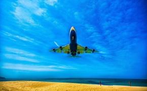 Picture sea, the plane, Thailand, Phuket, Krabi, Similan Islands