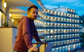 Picture the film, Aaron Paul, A Long Way Down, long fall