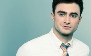 Picture tie, male, Daniel Radcliffe, actor, celebrity, bristles
