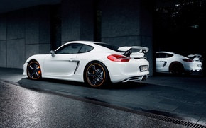 Wallpaper car, auto, tuning, Porsche, TechArt, Porsche Cayman