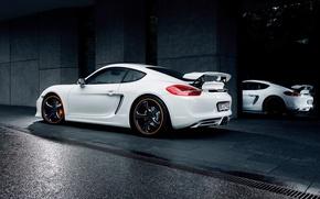 Picture car, auto, tuning, Porsche, TechArt, Porsche Cayman