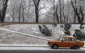 Picture Orange, USSR, Muscovite, AZLK