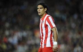 Picture Football, Spain, Club, Player, Atletico Madrid, Atletico Madrid, The tiger, Radamel Falcao, Radamel Falcao