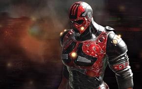 Picture fiction, costume, helmet, male, armor, reaper
