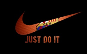 Picture Football, Nike, Football, FC Barcelona, FC Barcelona, Nike, Just do it