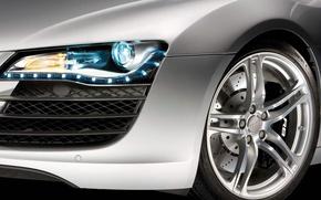 Wallpaper Audi, Wheel, Optics