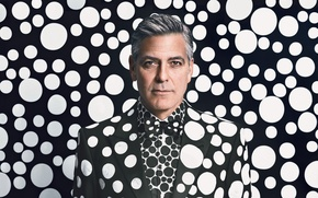 Picture portrait, photographer, actor, peas, George Clooney, Emma Summerton