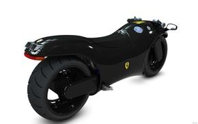 Picture future, speed, bike, ferrari