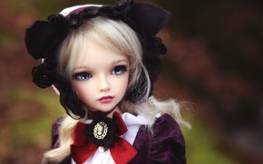 Picture toy, doll, blonde, cap