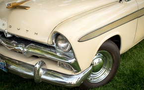 Picture style, lights, classic, Plymouth, 1956