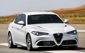 Picture Alfa Romeo, Four-leaf clover, Giulia, 2015