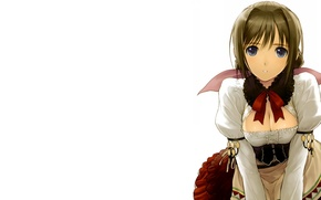 Picture girl, Tony Taka, white background
