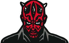Wallpaper star wars, maul, star wars, darth