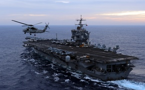 Picture weapons, the carrier, USS Enterprise
