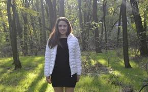 Picture forest, photo, girls, random