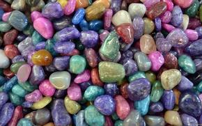 Picture colors, pattern, stones