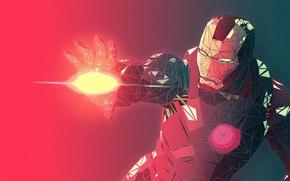 Picture Robot, Energy, Iron man, Power