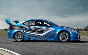 Picture Racing, Race Car, Motorsports, Lexus IS F