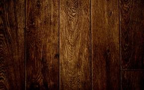 Picture wood, pattern, painted, dark brown