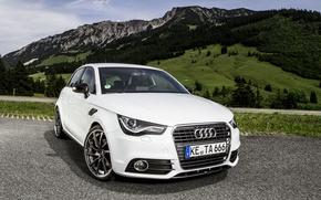 Picture landscape, mountains, Audi, ABBOT, Sportback