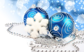 Wallpaper snowflake, snowflake, Merry Christmas, jewelry, lights, decoration, necklace, diamonds, light, decoration, jewelry, Merry Christmas, new ...