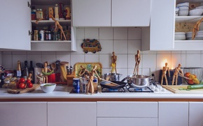 Picture people, men, photographer, kitchen, wooden, photography, photographer, process, cooking, ikea, David Olkarny, IKEA, cooking, roasting