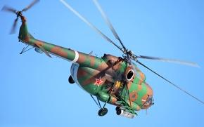 Wallpaper helicopter, polygon, guns, exercises, BBC, weapons, helicopter, OKB, Mi-8, Mi-8, assault, transport, transport, developer, assault, ...